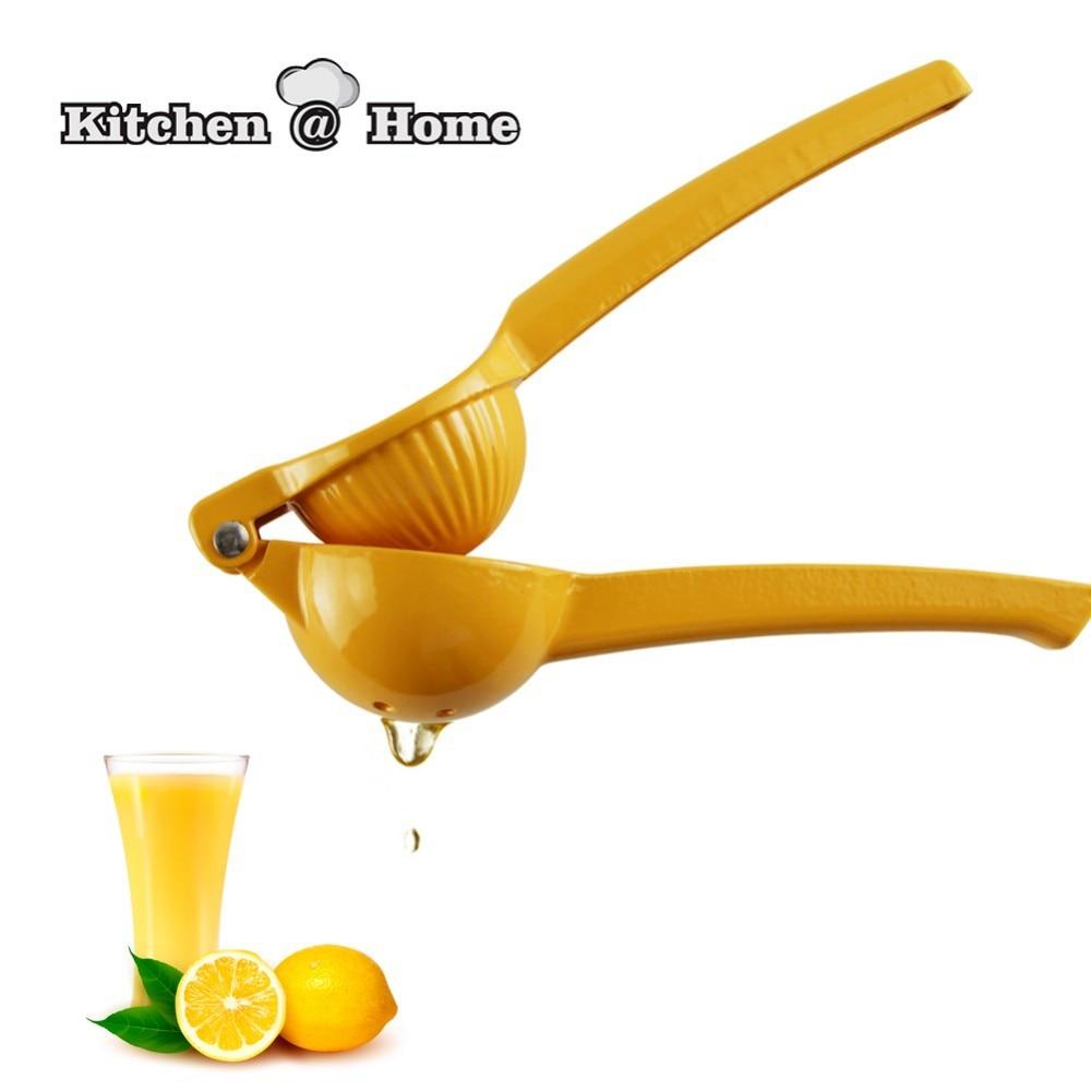 Presse agrume fruit orange citron lime en plastique à la Main Squeeze Press Passoire