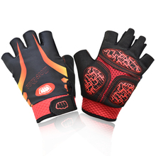 Men Women Half Finger Gel Cycling Gloves Breathable Summer Bike Bicycle Gloves Short Finger MTB Gloves