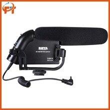 BOYA BY-VM190P BY VM190PStereo Video DSLR Camera DV Audio Recorder Shotgun for Canon Nikon Sony DSLR Cameras Camcorder Microfone