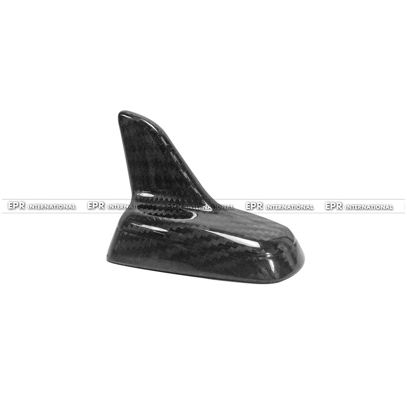 For Universal Shark Fin Type F Carbon Fiber Auto Car styling Accessories Fit