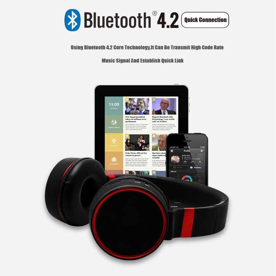 ХП ST10 Беспроводной наушники Bluetooth С микрофоном/TF карты игровые наушники, головная гарнитура для компьютера ТВ наушники