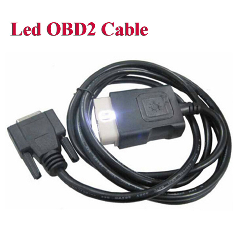 OBDII LED main cable Suit for delphis VD tcs pro plus OBD2 auto cable obd 16pin testing cable multidiag car wow