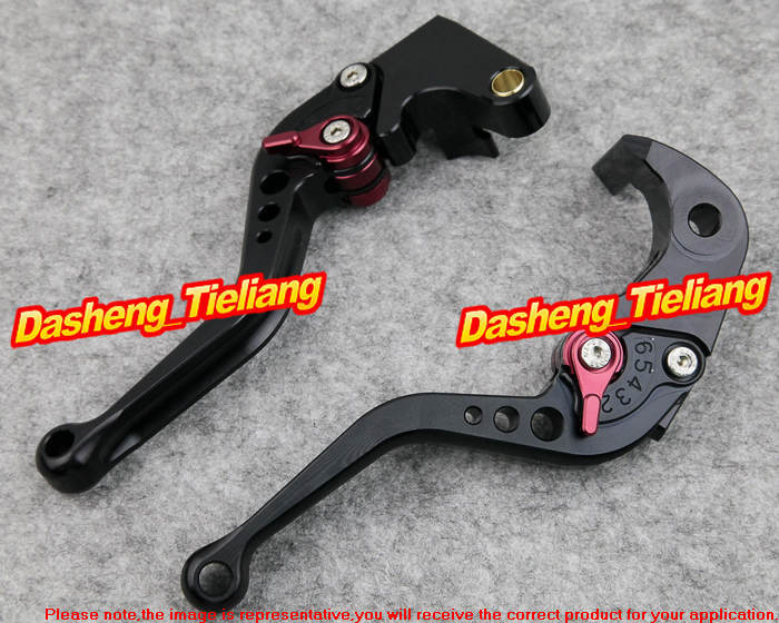 Short Brake Clutch Levers for Yamaha 2005-2011 YZF R6 2006 2007 2008 2009 2010 & 2004-2008 YZF R1 motorcycle fender eliminator tidy tail for yamaha yzf r1 yzf r1 yzfr1 2004 2005 2006 2007 2008 2009 2010 2011 2012 chrome