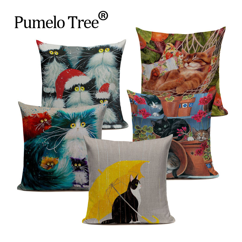 Results Of Top Cat Christmas Pillow Cover In Hairstyle40 Classy Customized Pillow Covers