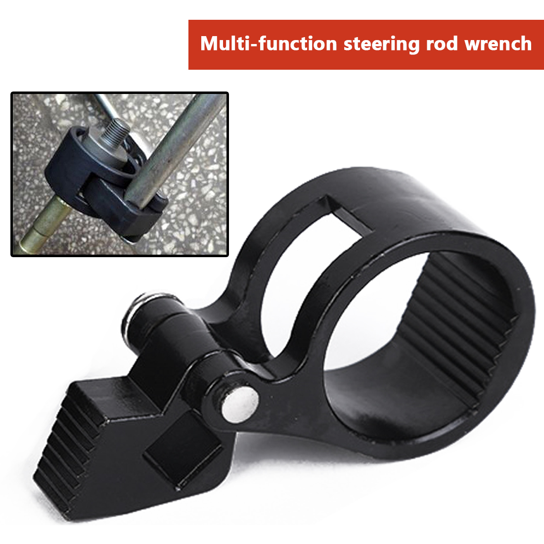 Car Steering Rudder Tie Rod Wrench Rudder Ball Joint Removal Wrench Universal Steering Track Rod Removal Hand Tool