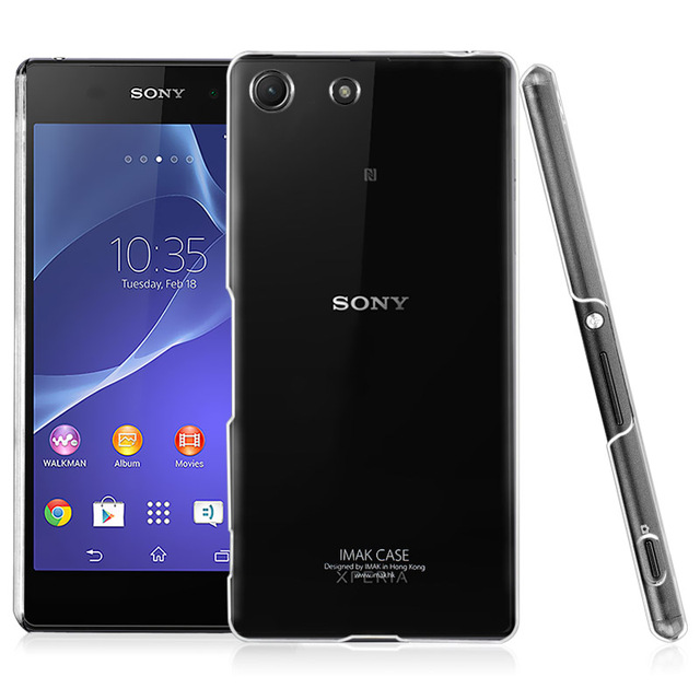 low cost db199 294e2 US $6.55 |For Sony Xperia M5 Dual 5.0'' Case Original IMAK Crystal Cover  Anti scratch Clear Hard Protective Shell for Xperia M5 E5643 on ...