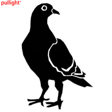 PIGEON Fun Car Stickers Motorcycle Decals Accessories