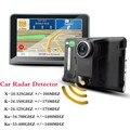 """Detector coche DVR GPS 7 """"toque sceen Coche Camión Vehículo Detector de Radar de banda completo Android 4.44 WiFi 8 GB GPS Navigator mapa gratuito"""