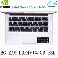 מקלדת מחשב נייד P2-27 6G RAM 1024G SSD Intel Celeron J3455 NVIDIA GeForce 940M מקלדת מחשב נייד גיימינג ו OS שפה זמינה עבור לבחור (1)