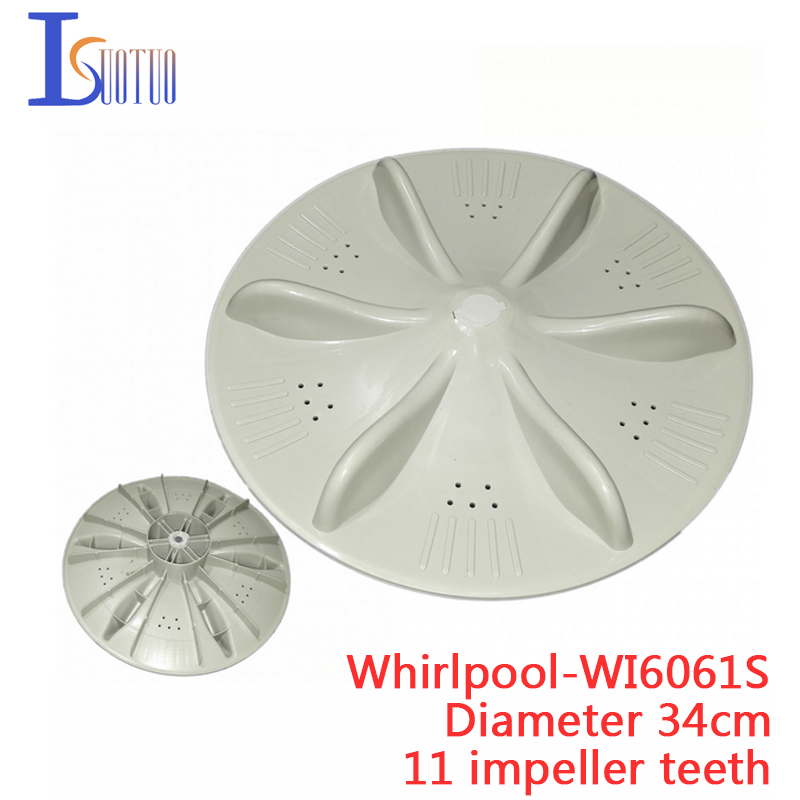 Whirlpool WI6061S washing machine WI5866SH 34CM 11 gear turntable vane impeller 220вольт скил 5866 аф