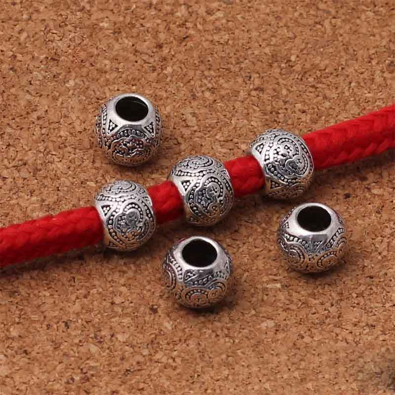 Wholesale Lots Gift Flower Spacer Beads Findings 7x7mm
