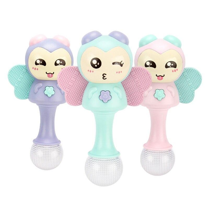 Enfants bébé jouets doux en peluche poupée animaux clochettes jouets de dentition pour enfants nouveau-nés poupée en peluche bébé jouet hochets