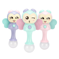 Kids Baby Toys Soft Plush Doll Animals Handbells Teether Toys For Children Newborns Stuffed Doll Baby Toy Rattles