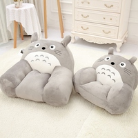 Cute Baby seat Plush totoro Stuffed Child totoro Toys Birthday Christmas Gift plush doll Cushion Room decoration