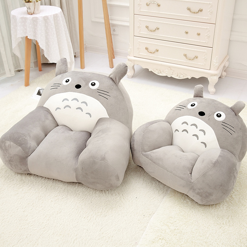 Cute Baby seat Plush totoro Stuffed Child totoro Toys Birthday Christmas Gift plush doll Cushion Room decoration free shipping about 60cm cartoon totoro plush toy dark grey totoro doll throw pillow christmas gift w4704
