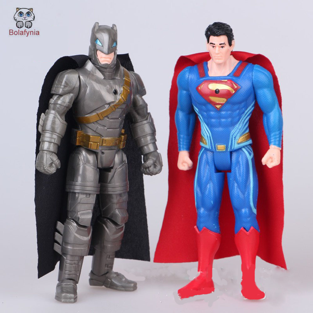 New World War 2 American Superman Batman doll ornaments decorated gift children toy birthday gifts image