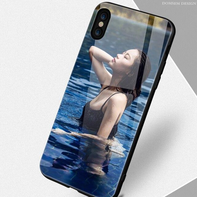 DIY personalizado UV impresora de vidrio de cubierta de la caja para iPhone X 10 6 6 s 7 7 8 7 8 impresión personalizada trasera de TPU y vidrio templado plus XS