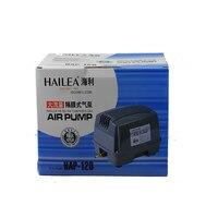 90 Вт 120л/мин HAP 120 Hiblow Hailea HAP 120 аквариум септик пруд линейный диафрагменный воздушный насос Aqua воздуходувы