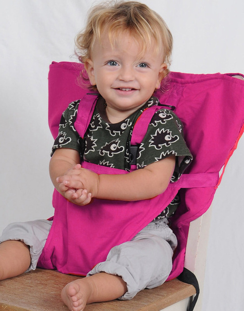 German High Quality Portable Baby Chair Seat Chair Baby Safety Strap Bag Multi-color Chair Fixed Strap Sack'n Seat Wholesale