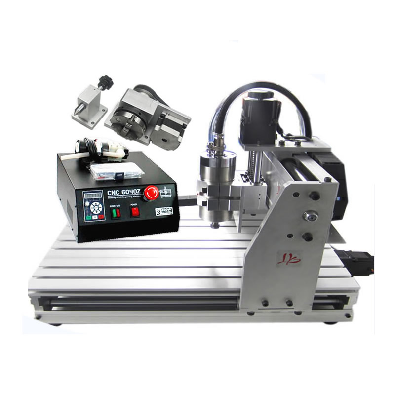 800W Water Cooled Engraving Machine CNC 6040 4 Axis CNC Router acctek 6040 4040 cnc router cnc 6040 4 axis mini cnc machine 4 axis router