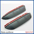 Espejo lateral Lluvia Guardia Nieve Sun Visor de ventilación 2 UNIDS/SET Para Hyundai Elantra