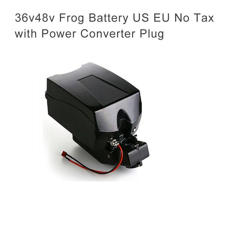 Ue Us pas de taxe avec contrôleur batterie 10A batterie pour vélo électrique 48 v Batteria 36 v batterie au Lithium Batteria Ebike vtt chargeur
