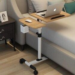 מתקפל מחשב שולחן מתכוונן נייד מחשב נייד שולחן סובב מיטת יכול להיות הרים עומד שולחן 64*40CM