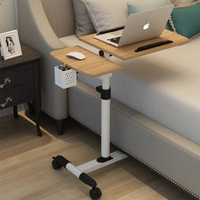 Foldable Computer Table Adjustable Portable Laptop Desk Rotate Laptop Bed Table Can be Lifted Standing Desk 64*40CM