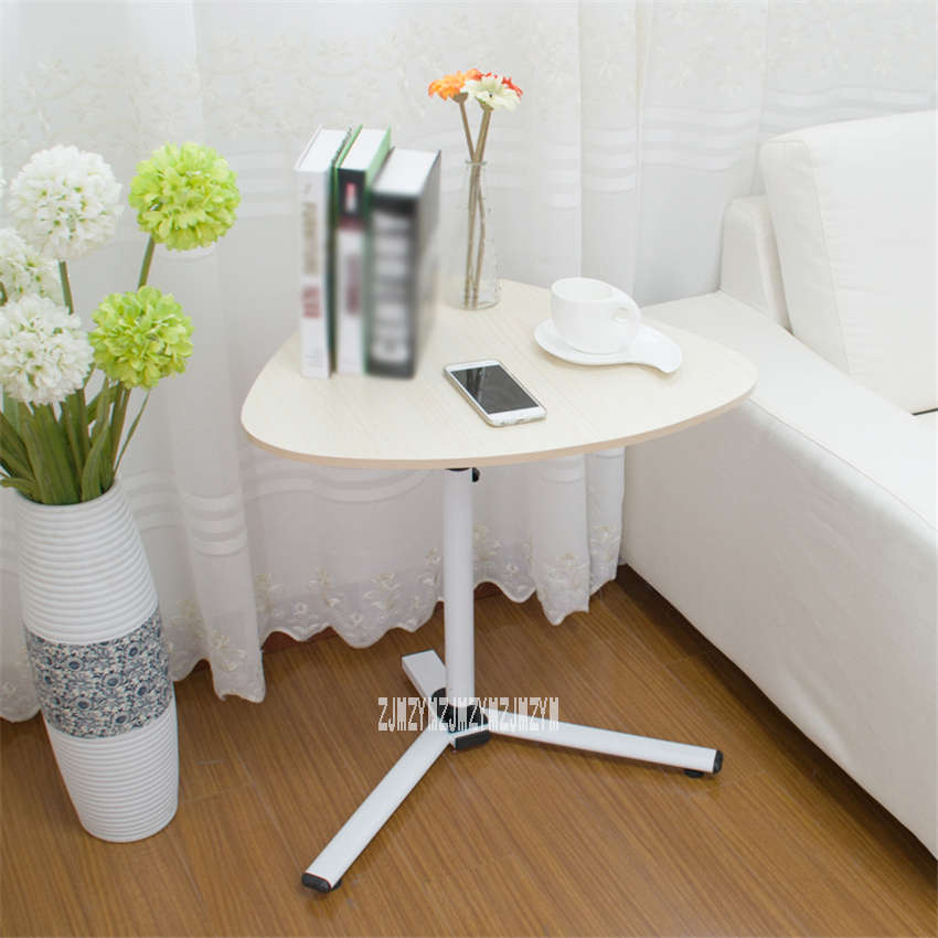 Home Modern Lifting Mobile Computer Desk Lazy Laptop Desk Household Office Student Small Multi-purpose Table (59*48*62-90cm )