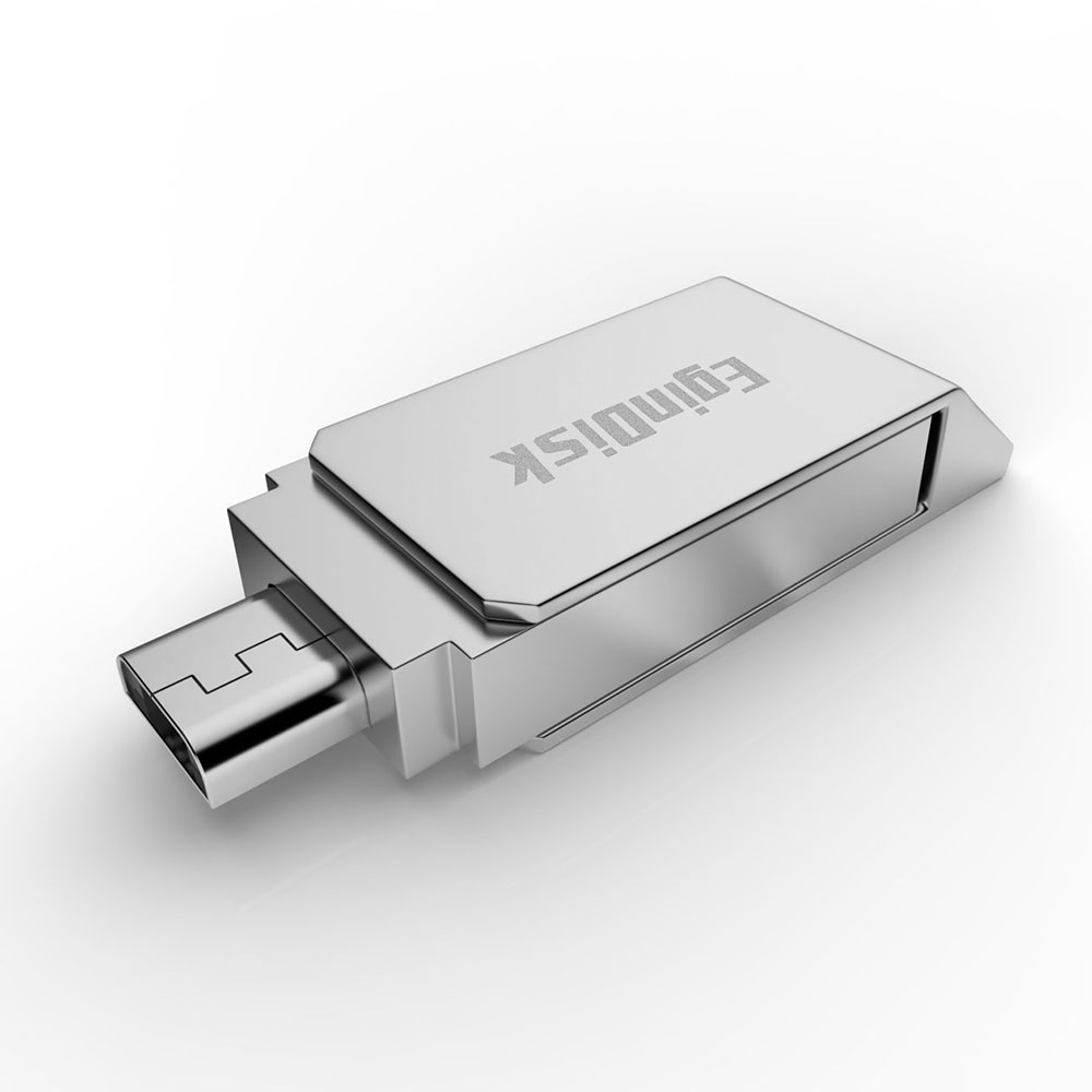 Micro USB Flash Drive For Android Phone OTG & USB 2.0 Dual Interface Pendrive Support Android 4.0 Above Mtal Memory Stick