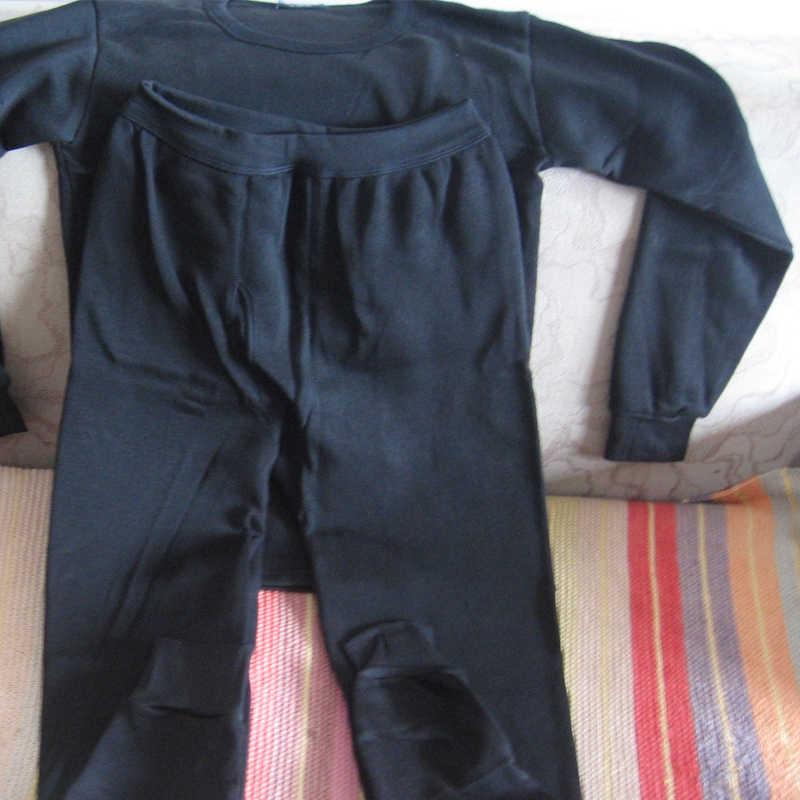 Conjuntos de roupa interior térmica para homens inverno thermo roupa interior longo johns roupas de inverno masculino grosso térmico sólido transporte da gota