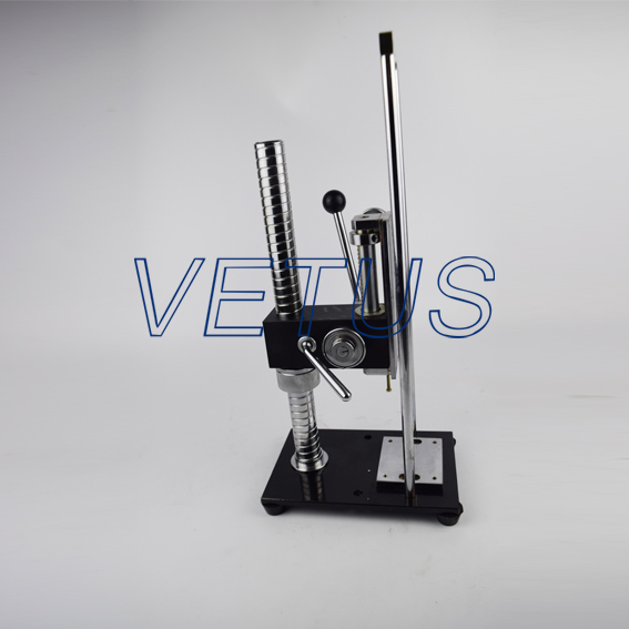 AST-J Manual Push Pull Test Stand max load 500n ast j manual test stand without force gauge