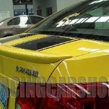Неокрашенный гоночный багажник спойлер светодиодный, пригодный для Chevy Cruze 2009 UP T004F