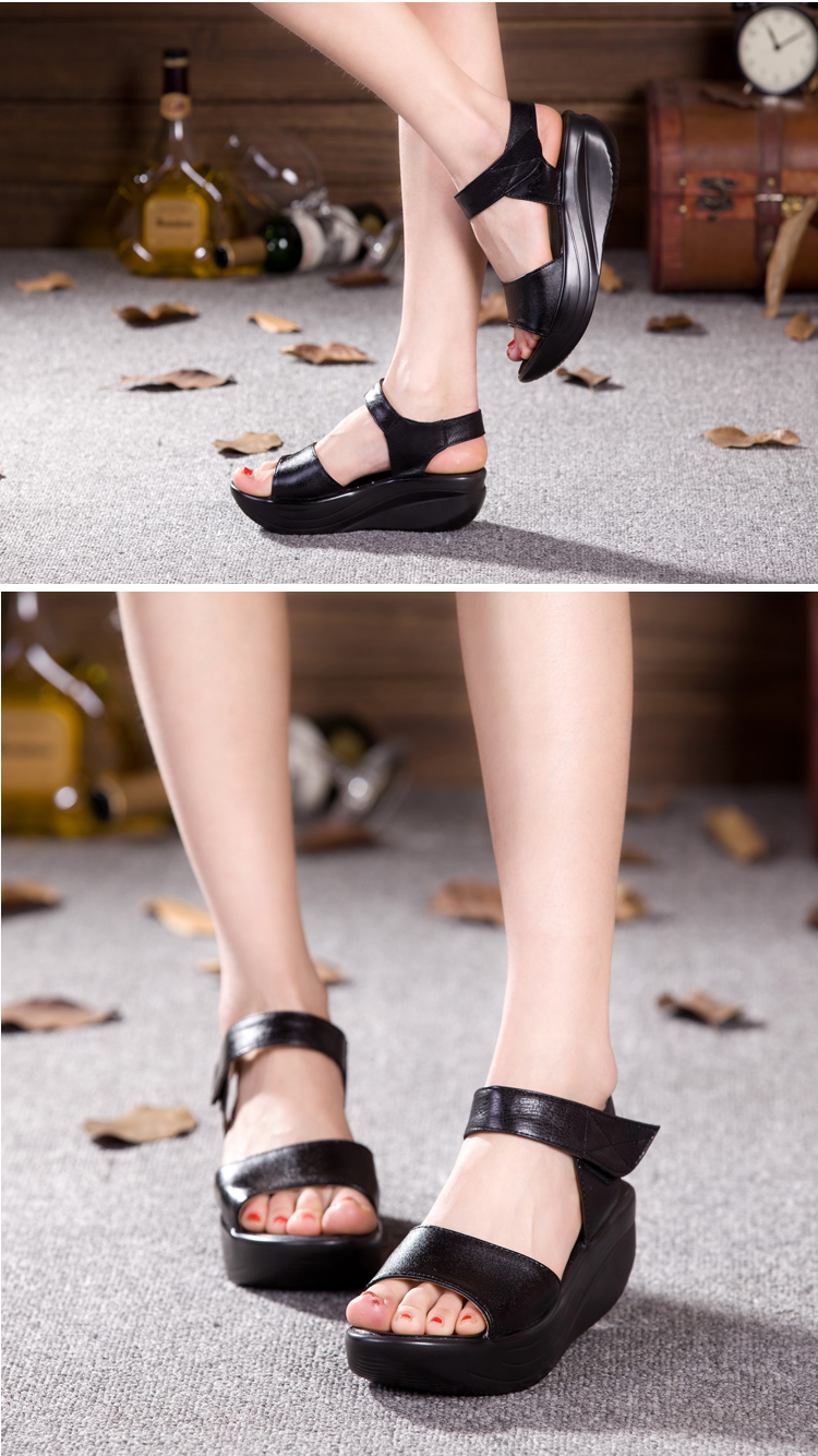 Leather Shoes Comfortable Slimming 1
