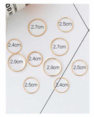 מהדורה קוריאנית טבעת עשרה סטים נשי אינדיבידואליות שילוב נדבק תלמיד מעטרים מאמר מתנה