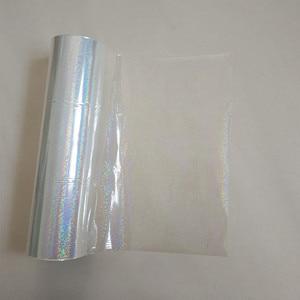 Image 1 - Голографическая фольга, прозрачная Хрустальная точечная штамповочная фольга, горячий пресс на бумаге или пластиковой пленке для передачи
