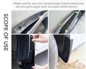 Image 4 - Car styling buckle clip Screw For Kia Rio K2 Sportage Soul Mazda 3 6 CX 5 Lada For Skoda Octavia A5 A7 Superb Yeti