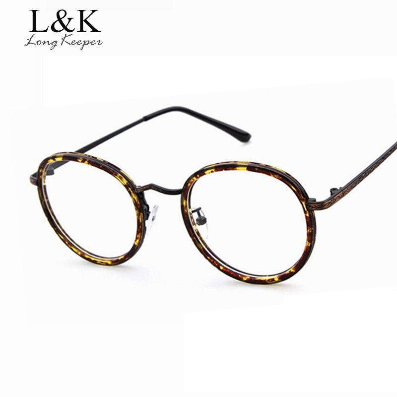 2017 Fashion Reading Women Eyewares Frame Men Glasses Optical Frame Clear Lens Transparent Eyeglasses gafas de grau Y-1907