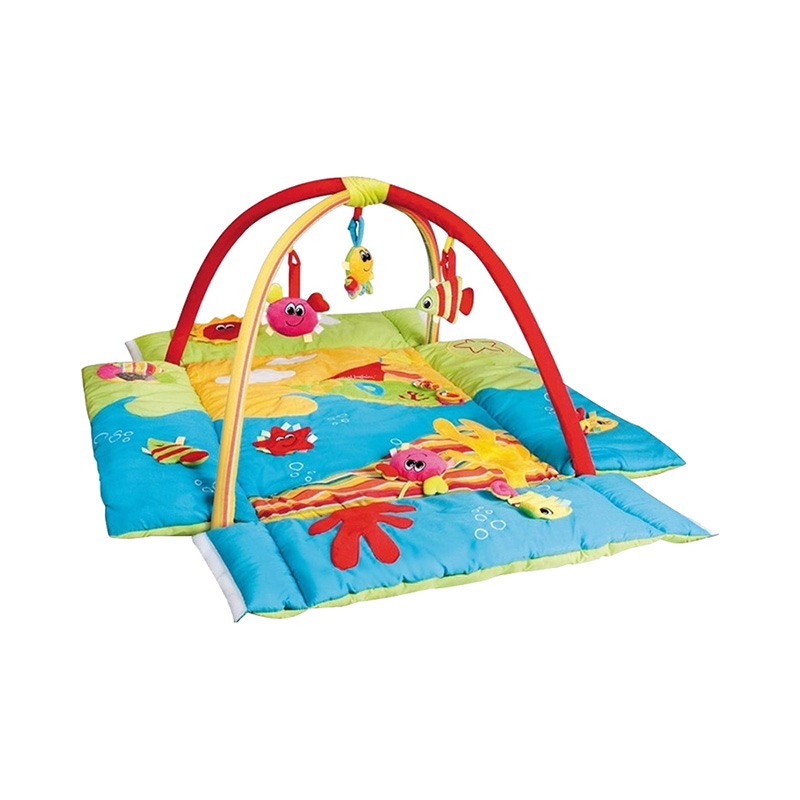 Play Mat Canpol Babies Multifunctional - colored ocean, 0+ sassy seat doorway jumper 5 toys with musical play mat