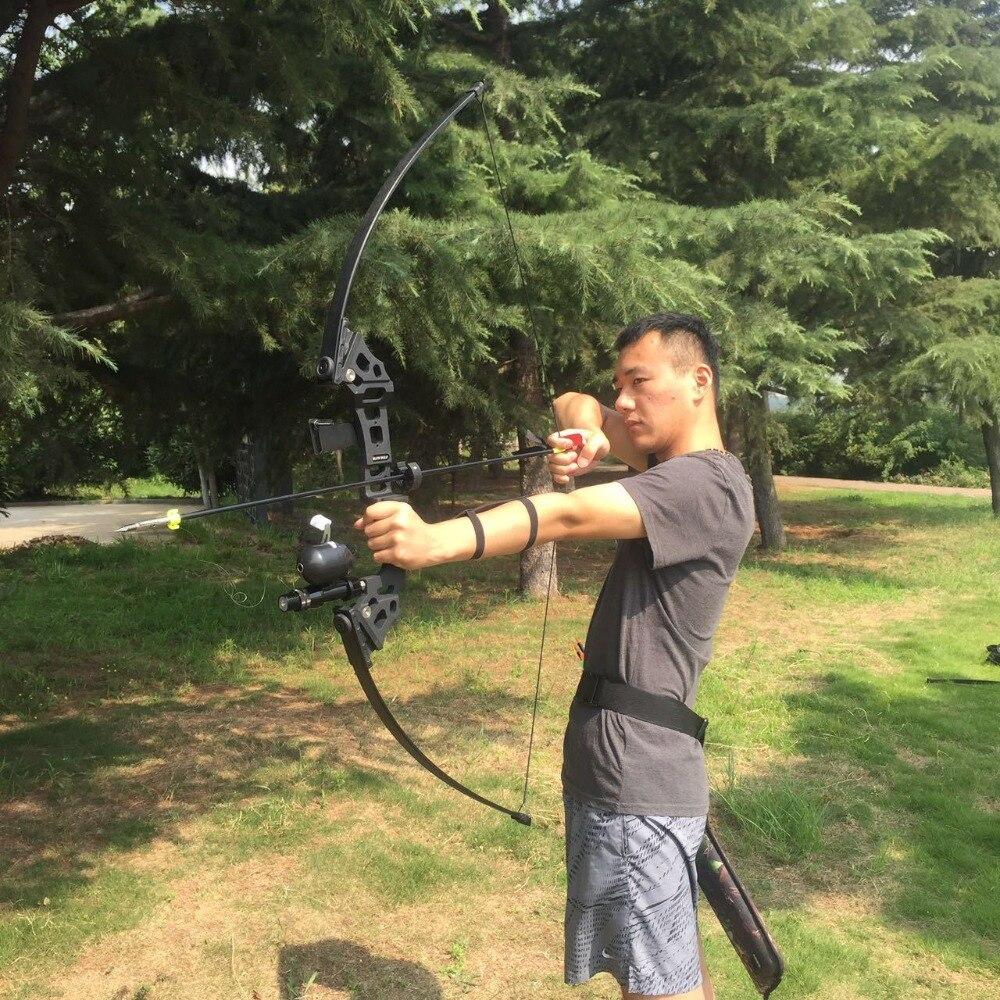 30/40 lbs arc classique en plein air arc de chasse américain pour tir à l'arc pratique de chasse tir à l'arc accessoires de pêche
