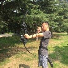 Arco recurvo de 30/40 libras para exteriores, arco de caza americano para tiro con arco, práctica de caza, accesorios de pesca