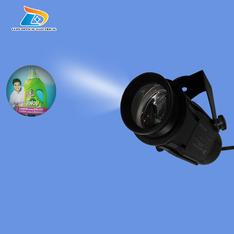 Big Promotion Outdoor 1800Lumens Projector Waterproof 20W LED Company Logo Signs Gobo Projector with 1pc Advertising