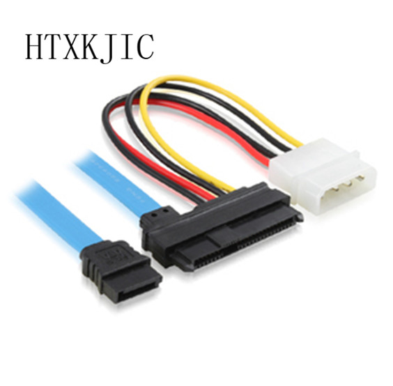 SAS Serial Attached SCSI SFF 8482 To SATA 7 Pin ATA 29 And 4 Power Adapter Connector Cable