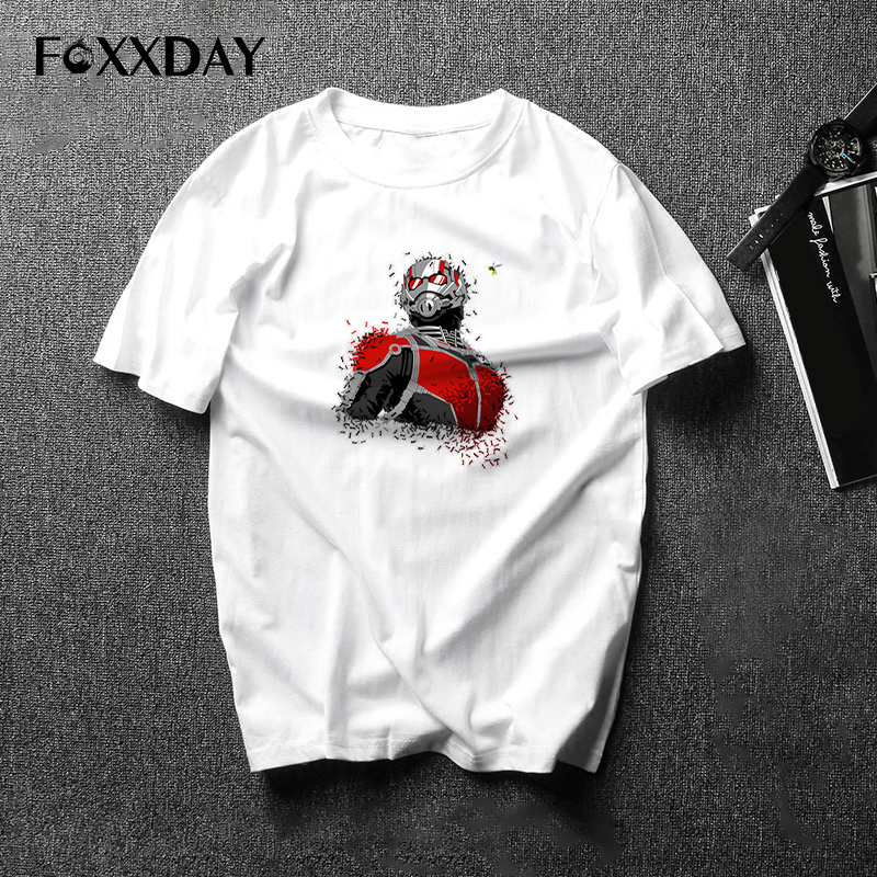 Ant-man Antman t shirt Ant Man T-shirt Movie Male Casual Costume Cosplay Short Sleeve Tops Men Tee Shirts Short Sleeve Camiseta