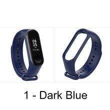 1pc For Xiaomi Mi Band 3 Strap Smart Accessories For Xiaomi Miband 3 Smart Wristband Replacement Of Mi Band 4 Strap 13 Colors