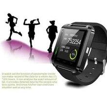 Bluetooth smart uhr U8 Armbanduhr U smartWatch für Für iPhone 4/4 S/5/5 S/6 und Samsung S4/Note/s6 HTC Android Phone Smartwatch