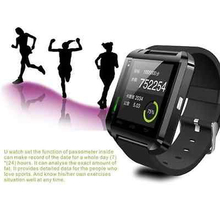 Bluetooth reloj inteligente reloj u8 u smartwatch para iphone 4/4s/5/5s/6 samsung s4/note/s6 teléfono android de htc smartwatch