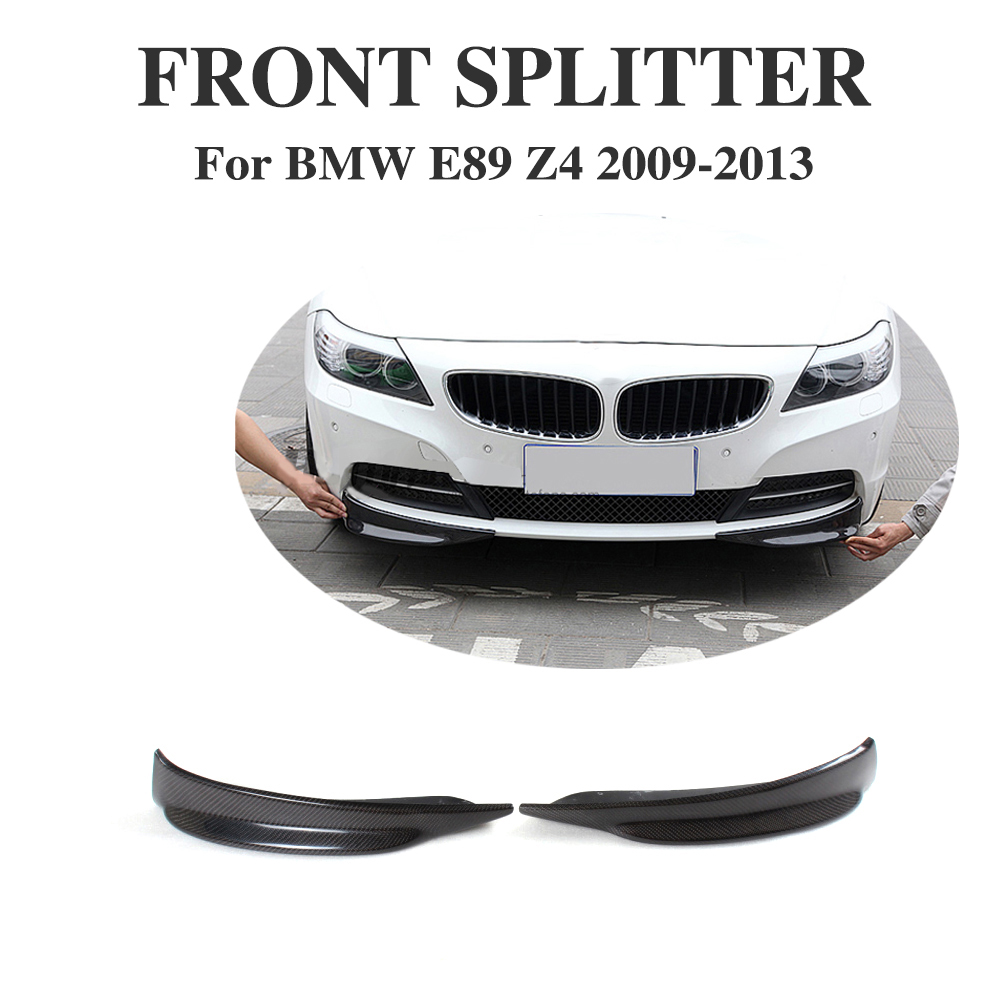 Bmw Z4 Splitter: Aliexpress.com : Buy Carbon Fiber Front Bumper Splitters