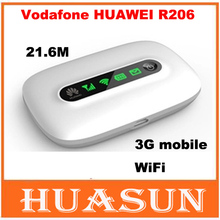 Original Unlocked vodafone Huawei Vodafone R206 3G mobile wifi hotspot 21 6M wireless router cheap Firewall 2 4G Wi-Fi 802 11g Wi-Fi 802 11b Wi-Fi 802 11n None 300 Mbps Soho 100Mbps