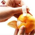 Hourong 9 pçs/lote orange peeler parer cozinha gadgets dedo aberto orange orange peel dispositivo cozinhar ferramenta acessórios de cozinha